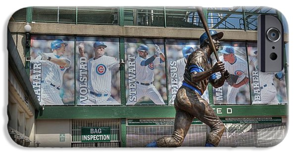 Wrigley iPhone Cases - Billy Williams  iPhone Case by David Bearden