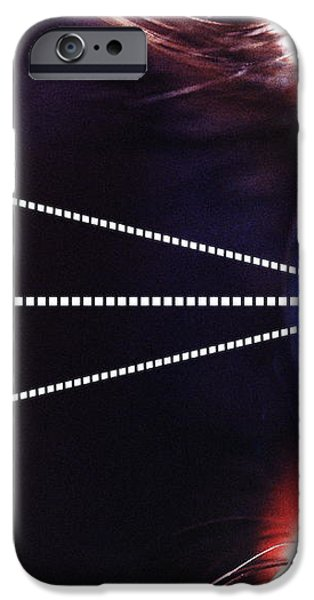 Biometric Eye Scan iPhone Case by Pasieka