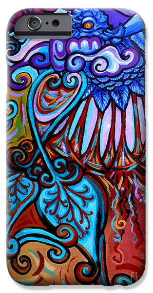Genevieve Esson iPhone Cases - Bird Heart II iPhone Case by Genevieve Esson