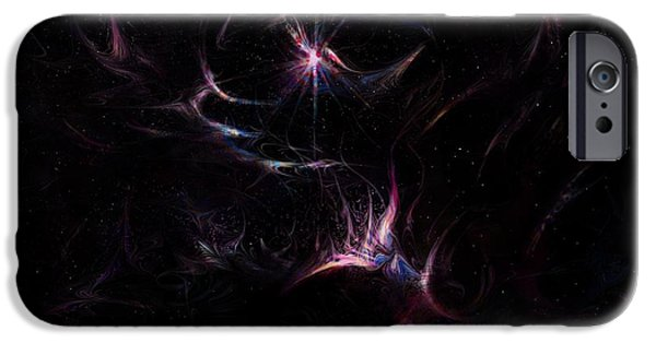 Miracle Digital iPhone Cases - Birth of the Son iPhone Case by Rachel Christine Nowicki