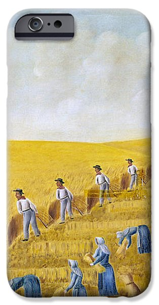BISHOP HILL COLONY, 1875 iPhone Case by Granger