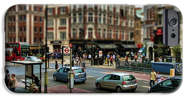 City Scape iPhone Cases - Bishopsgate iPhone Case by Heather Applegate