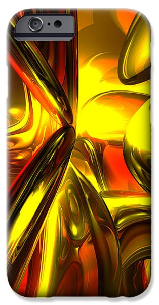 Bittersweet Abstract iPhone Case by Alexander Butler
