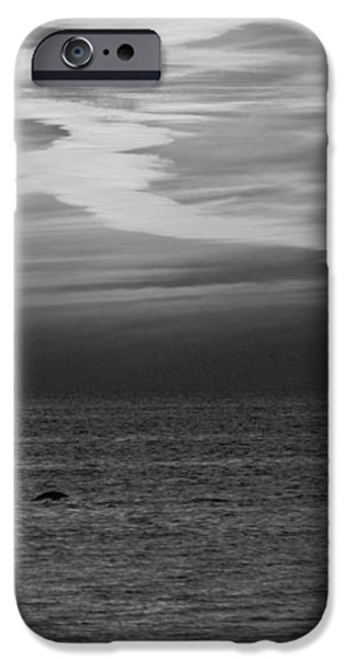 Black and White Sunset iPhone Case by Aimee L Maher Photography and Art