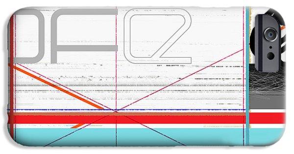 Relationship iPhone Cases - Black Bundle iPhone Case by Naxart Studio