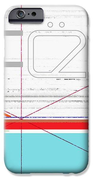 Black Bundle iPhone Case by Naxart Studio