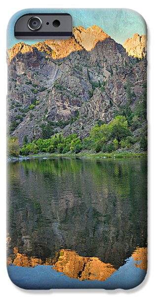 Black Canyon 4 iPhone Case by Marty Koch