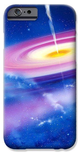 Black Hole iPhone Case by Detlev Van Ravenswaay