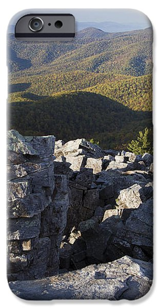 Black Rock Mountain Shenandoah National Park iPhone Case by Pierre Leclerc Photography