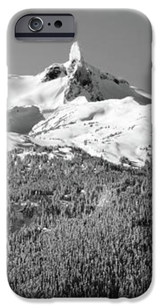 Black Tusk iPhone Case by Pierre Leclerc Photography