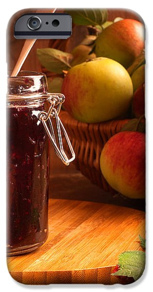Blackberry and Apple Jam iPhone Case by Amanda And Christopher Elwell