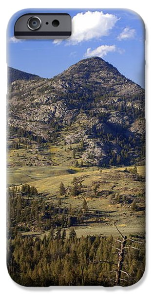 Blacktail Road Landscape 2 iPhone Case by Marty Koch