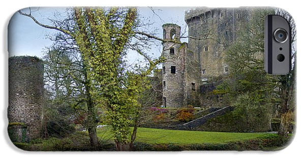 Ireland iPhone Cases - Blarney Castle 3 iPhone Case by Mike McGlothlen