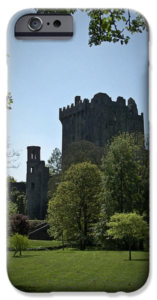 Irish Photographs iPhone Cases - Blarney Castle Ireland iPhone Case by Teresa Mucha