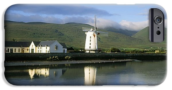 Built Structure iPhone Cases - Blennerville Windmill, Blennerville, Co iPhone Case by The Irish Image Collection