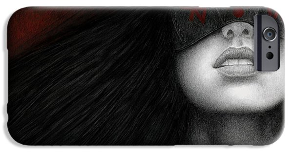 Goth iPhone Cases - Blinders iPhone Case by Pat Erickson