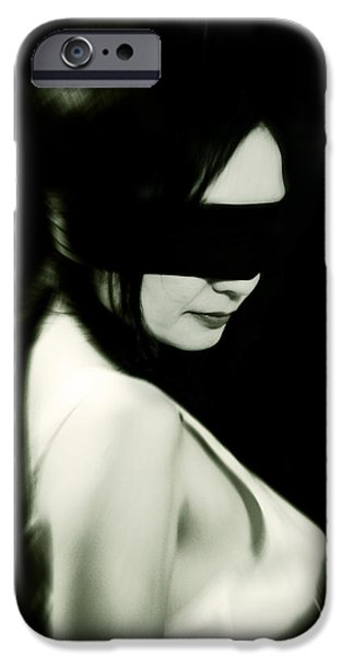 Abuse iPhone Cases - Blindfold iPhone Case by Joana Kruse