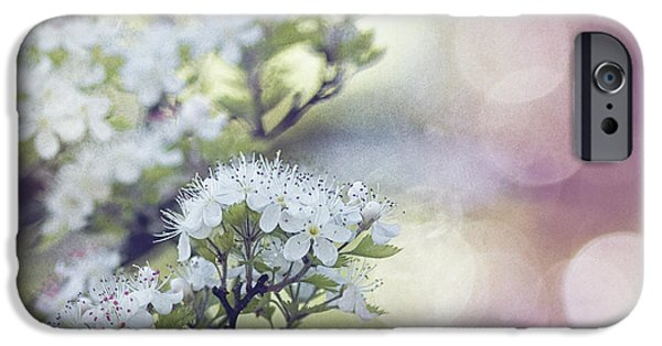 Texture iPhone Cases - Blossom iPhone Case by Joel Olives