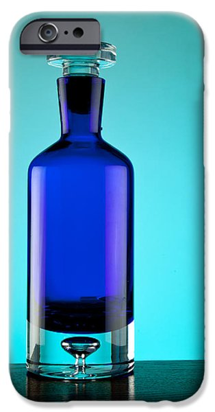 Blue Bottle iPhone Case by Michelle Wiarda