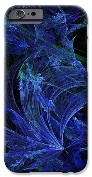 Blue Breeze iPhone Case by Andee Design