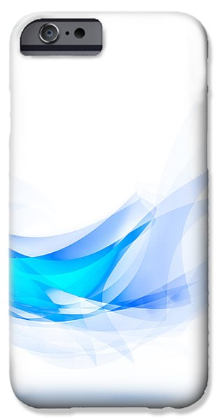 blue feather iPhone Case by Setsiri Silapasuwanchai