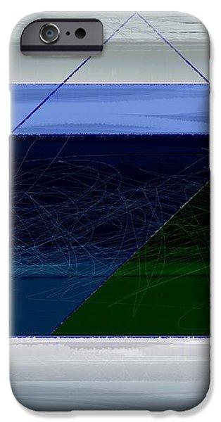Blue Horizon iPhone Case by Naxart Studio