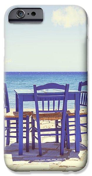 blue iPhone Case by Joana Kruse
