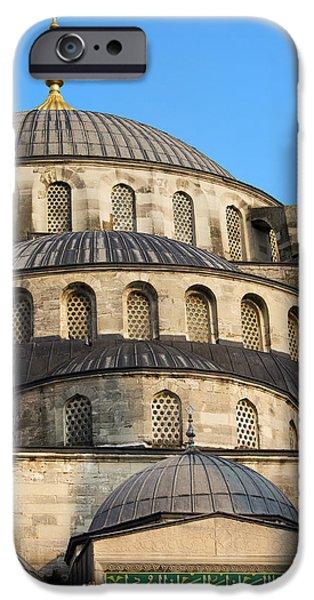 Blue Mosque Domes iPhone Case by Artur Bogacki