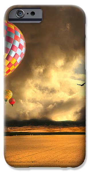 Blue Skies Ahead iPhone Case by Artist and Photographer Laura Wrede