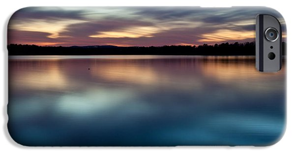 Arkansas Photographs iPhone Cases - Blue Skies Of Reflection iPhone Case by Jonas Wingfield