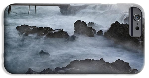 Power iPhone Cases - Blue Storm..protaras iPhone Case by Stylianos Kleanthous