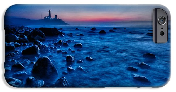 Clouds Photographs iPhone Cases - Blue Tide iPhone Case by Rick Berk
