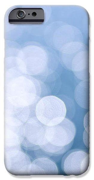 Blue water and sunshine abstract iPhone Case by Elena Elisseeva