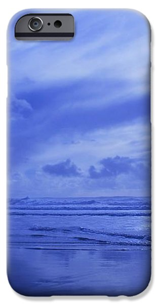 Blue Waterscape iPhone Case by Christine Mariner