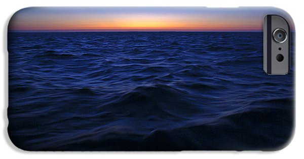 Resilience iPhone Cases - Bluewater sunset iPhone Case by Gary Eason