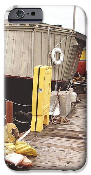 Boat house iPhone Case by Hiroko Sakai