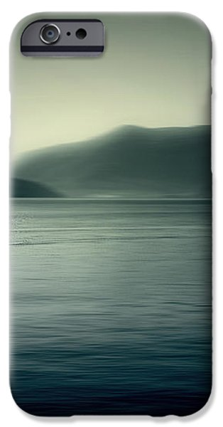 boat on the Lake Maggiore iPhone Case by Joana Kruse