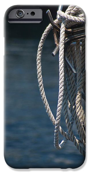 Pleasure iPhone Cases - Boating Time iPhone Case by Carolyn Marshall
