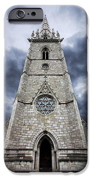 bodelwyddan church iPhone Case by Meirion Matthias