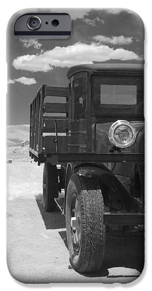 Bodie California - A Trip Back In Time iPhone Case by Christine Till
