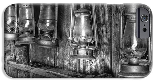Arrest iPhone Cases - Bodie Lanterns iPhone Case by Scott McGuire
