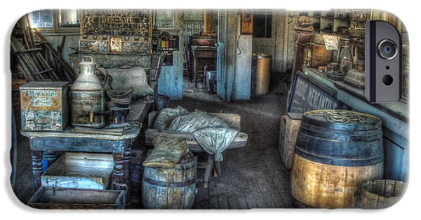 Arrest iPhone Cases - Bodie State Historic Park California General Store iPhone Case by Scott McGuire