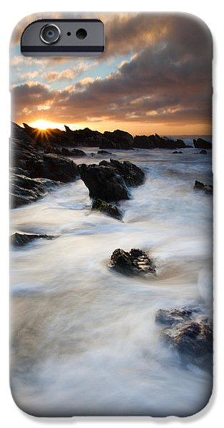 Fleurieu Peninsula iPhone Cases - Boiling Tides iPhone Case by Mike  Dawson