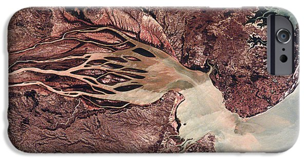 Mangrove Forest iPhone Cases - Bombetoka Bay, Madagascar iPhone Case by Nasa