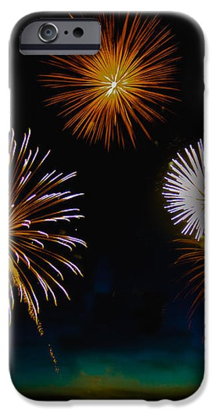 Bombs Bursting In The Air iPhone Case by Robert Bales