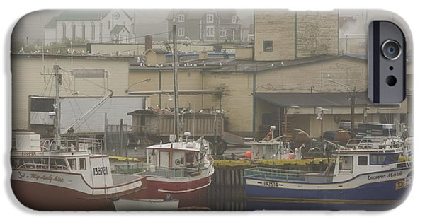 Port Town iPhone Cases - Bonavista, Newfoundland And Labrador iPhone Case by John Sylvester