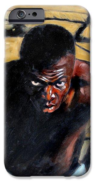 Slave Paintings iPhone Cases - Bondage iPhone Case by John Lautermilch