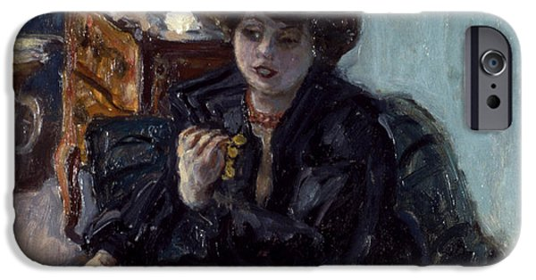 19th Century iPhone Cases - BONNARD: LADY, 19th C iPhone Case by Granger