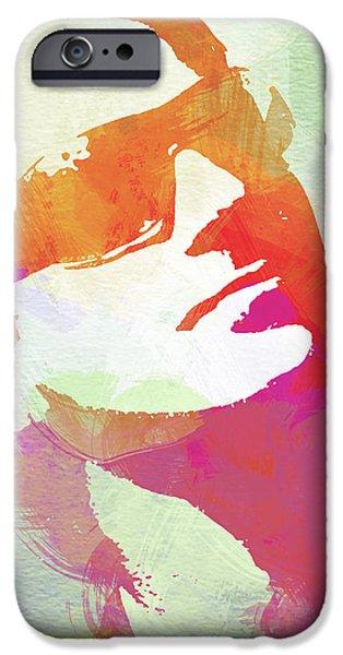 Bono iPhone Case by Naxart Studio