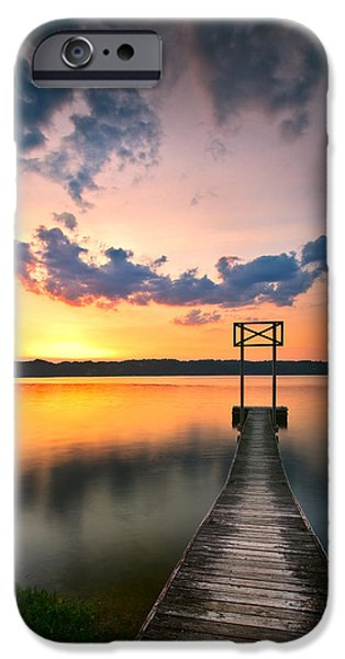 Booker T. iPhone Cases - Booker T Dock 1 iPhone Case by Steven Llorca